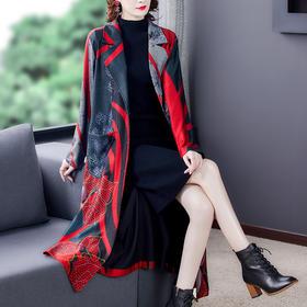 AHM-myx8615新款时尚气质优雅宽松显瘦大衣TZF