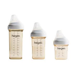新加坡Hegen 新生儿宽口奶瓶PPSU耐摔
