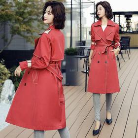 WZNH-MKX261-1新款风衣百搭气质潮流风衣