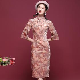 OYCP20201新款中国风复古气质改良版旗袍TZF