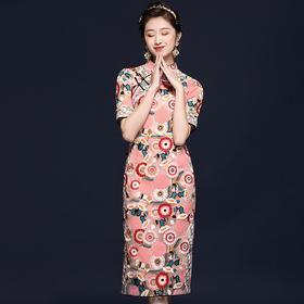 OYCP20568新款重工刺绣气质旗袍TZF