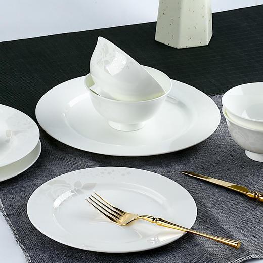 陶溪川 家用餐具套装 白玫瑰 3款配置可选 商品图1
