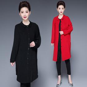 CQ-HXGLR975新款时尚潮流长袖风衣TZF