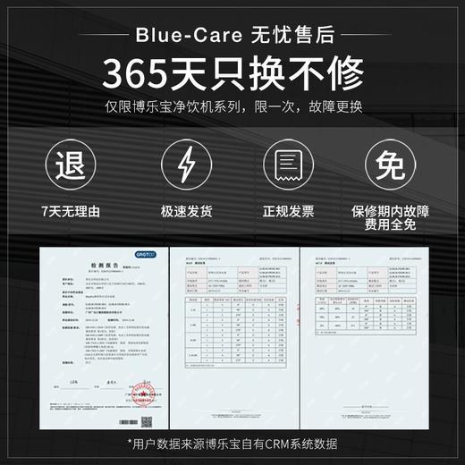 BluePro博乐宝黑面板B60-A150反渗透净饮一体机 商品图5