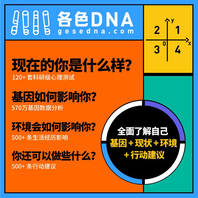 各色DNA 基因检测解读 (适合 14 岁以上人群) 商品图7