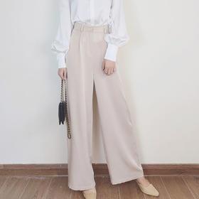 AOSCWALD·醋酸西装裤│时装精都爱的显瘦单品,穿出超模大长腿