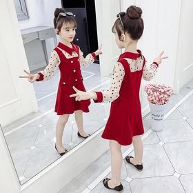PDD-女童连衣裙秋装2020新款秋季洋气儿童裙子夏装小女孩长袖公主裙