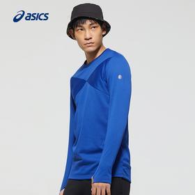 【特价】Asics亚瑟士男款运动跑步起绒长袖T恤
