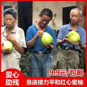 【9.9元/箱】福建琯溪红心蜜柚上市,这是几个残疾家庭孤身求援,肯请转发助力......