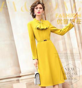 FMY-FX9DL28245新款成熟气质女神收腰中长款打底裙