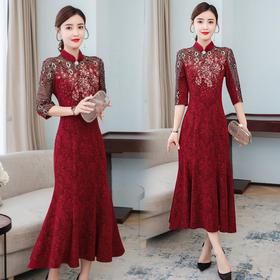 AHM-lfqp9539新款时尚气质优雅显瘦修身裙TZF
