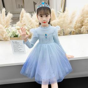 NHRX-D55-6H018童装秋装裙子女童秋装裙子