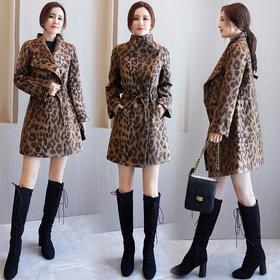 HRFS-WJ20739时尚优雅毛呢大衣TZF