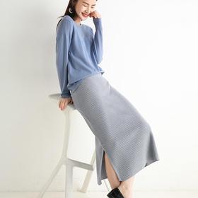 纤束马·针织半身裙   显瘦裙型,经典4色,穿出翘臀美腿