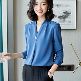 牛奶丝衬衫 | 高级时髦,一件穿出优雅女人味