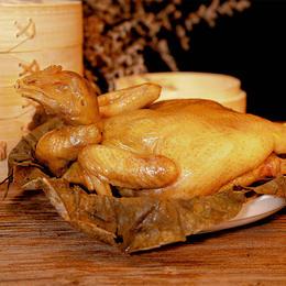 【好品牌好滋味】珍味小梅园水晶荷叶鸡 700g*2只|严选食材|质嫩爽滑|鲜香四溢|方便快捷