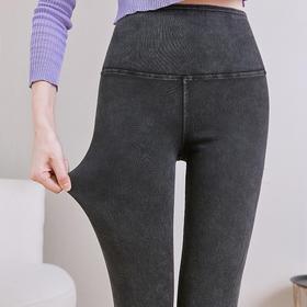 MYFS-BK2006新款时尚气质高腰收腹提臀牛仔塑形紧身铅笔裤TZF