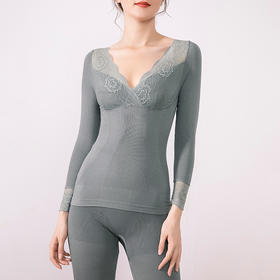 Avann塑形蕾丝发热保暖内衣 | 优雅可外穿,温暖如春,塑形显瘦身材好