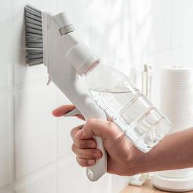【家庭清洁大师】多功能可喷水清洁套装,单手就能做家务!油污、细缝、刷窗一点都不放过,一套搞定一半家务!