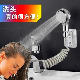 PDD-XYDD200927新款家用洗脸池增压喷头过滤伸缩莲蓬头套装TZF