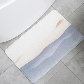 「搞不脏的地垫 1秒瞬吸」泥的物语Q弹硅藻泥吸水软地垫 硅藻土速干脚垫 厨房浴室卫生间防滑垫进门垫 环保材质  海量吸水 防污防油 可机洗脱水 安全防滑 | 基础商品