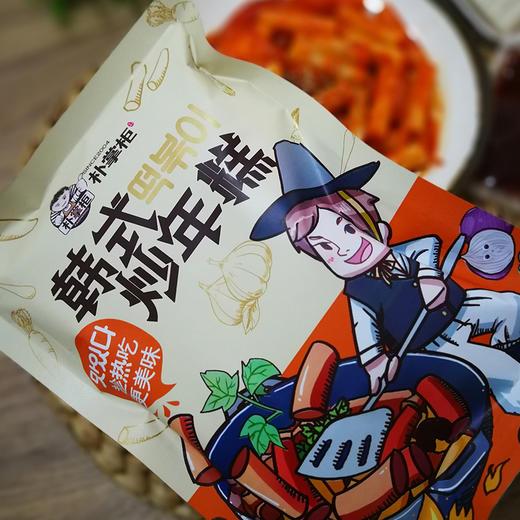 朴掌柜 韩式炒年糕3袋 ❥ 原料精选五常粳米 Q弹有嚼劲 辅以老朴家酱料 特别正宗 商品图7