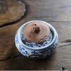 怀景堂 青花釉里红莲纹茶壶盖托 商品缩略图0