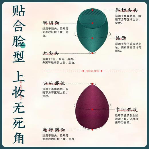李佳埼美妆蛋不吃粉 气垫粉扑海绵蛋彩妆蛋 化妆工具收纳盒架子rt 商品图3