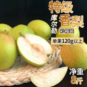 库尔勒香梨礼盒 | 新疆库尔勒香梨8斤单果120g左右特级果
