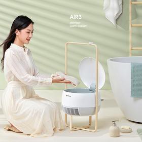 艾美特取暖烘衣一体机烘干机家用速干衣小型风衣服折叠烘衣机干衣器大容量干衣机