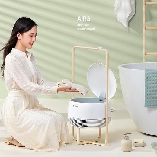 艾美特取暖烘衣一体机烘干机家用速干衣小型风衣服折叠烘衣机干衣器大容量干衣机 商品图0
