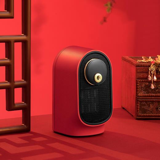 【御寒抗燥 小主必备】 塔罗仕加湿暖风机小型家用宿舍桌面办公取暖器 商品图3
