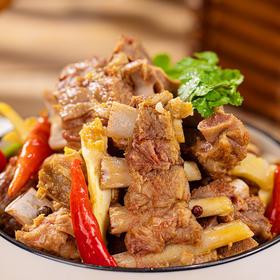 内蒙古特产羊蝎子锅  口感鲜美  好吃不腻  加热即食  原味/香辣