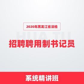 2020年黑龙江省法院招聘聘用制书记员系统精讲班