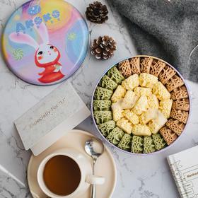 【积分加价购】[AKOKO经典小花冰淇淋曲奇饼干礼盒] 经典小花  与众不同  560g/盒