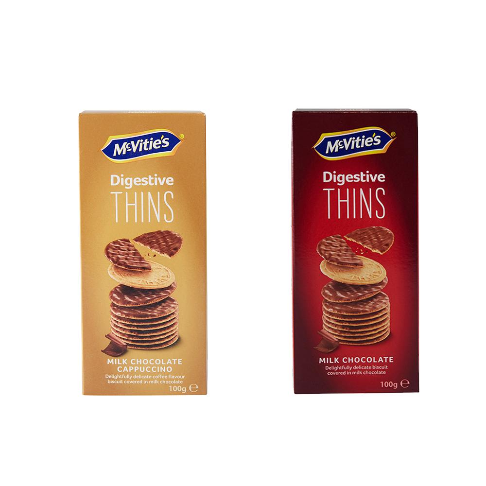 麦维他巧克力薄脆100g*5包装 商品图2