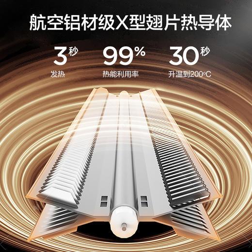 【这个冬天35°】百斯腾家用取暖器 双核对流制热 APP智能操控 欧洲防水技术 居家沐浴两用 商品图1