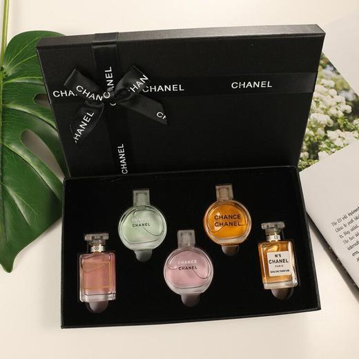 香奈儿香水小样5件套礼盒粉邂逅COCO可可小姐套装 商品图0