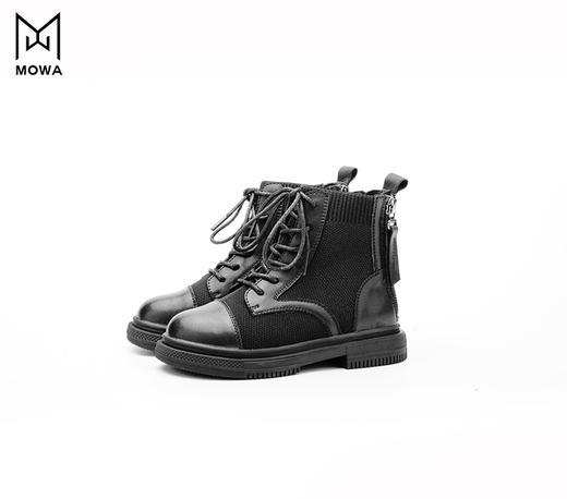 墨瓦亲子viva飞织牛皮马丁靴 商品图1