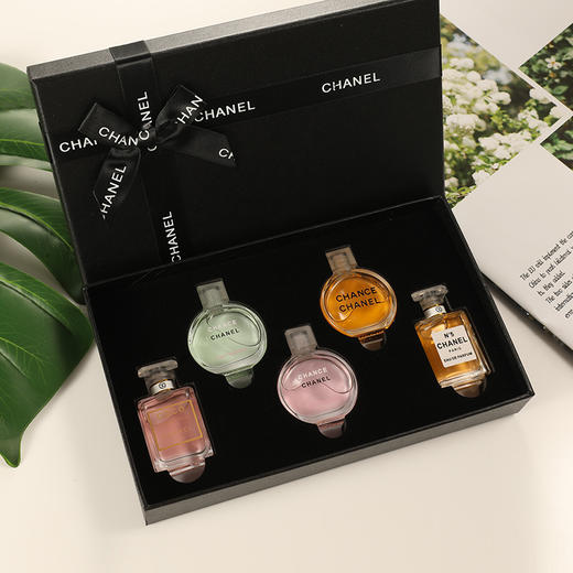 香奈儿香水小样5件套礼盒粉邂逅COCO可可小姐套装 商品图1