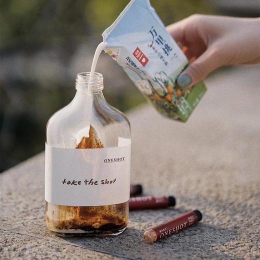 【新品特惠】乐纯ONESHOT瞬萃冰滴咖啡 14支/盒(赠玻璃瓶+牛皮wallet)咖啡配牛奶 商品图2