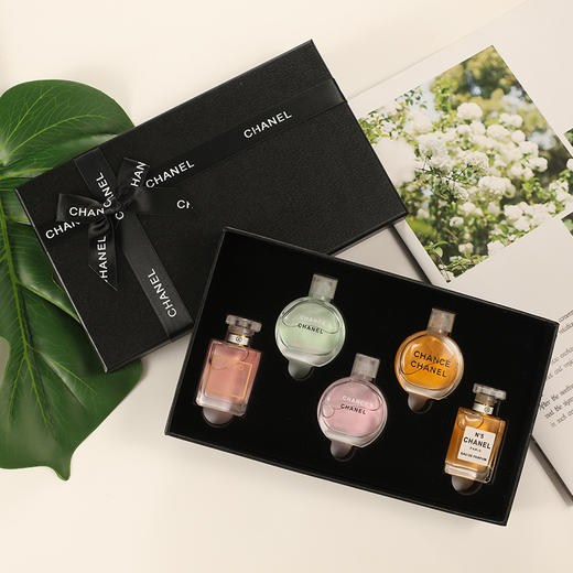 香奈儿香水小样5件套礼盒粉邂逅COCO可可小姐套装 商品图2