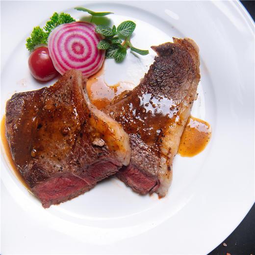 【月河】臻和牛149元双人牛排套餐 安格斯西冷牛排、意面、烤翅、蘑菇汤、草莓奶昔、雪梨汁... 商品图2