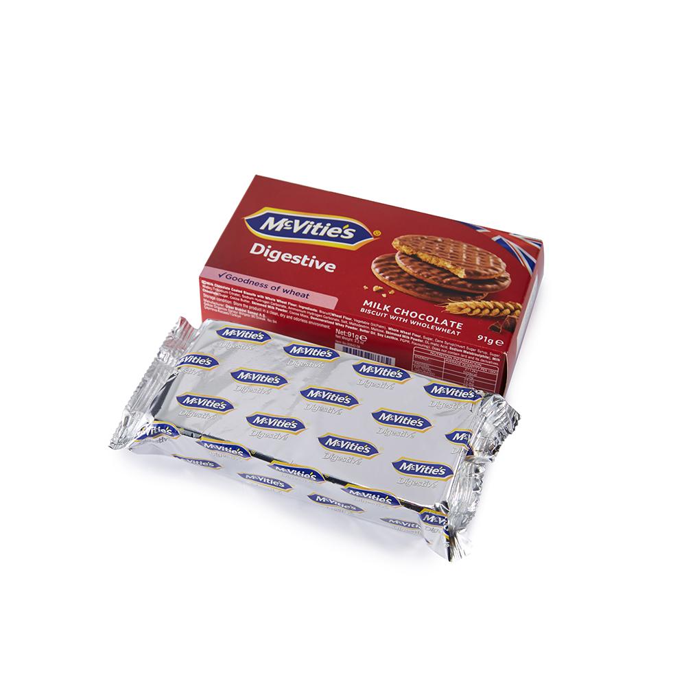 麦维他91g巧克力消化饼7包装 商品图1