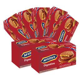 麦维他91g巧克力消化饼7包装