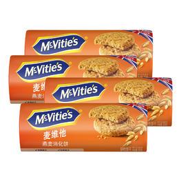 麦维他燕麦消化饼4包装