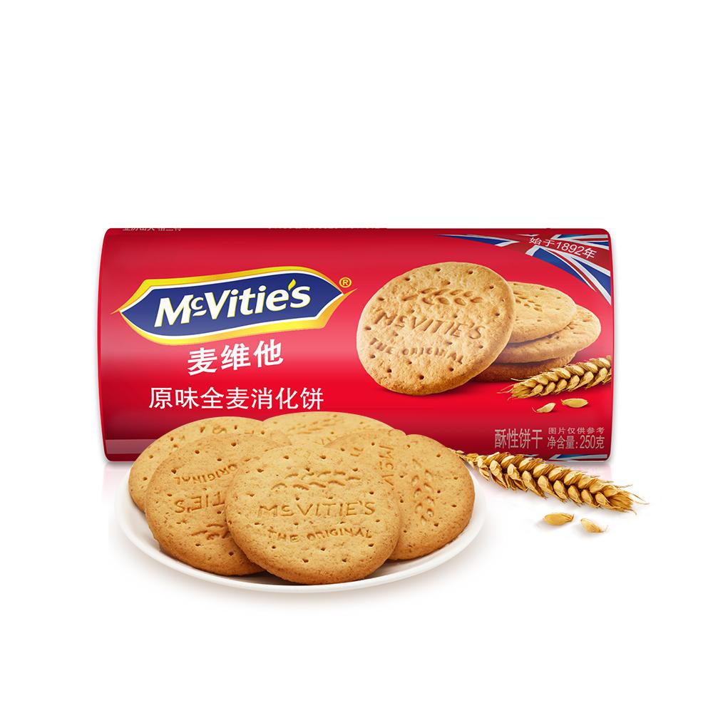 麦维他原味消化饼4包装 商品图1