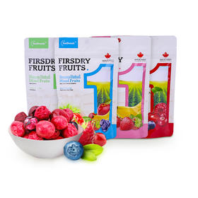 绎果空间混合冻干水果3包装