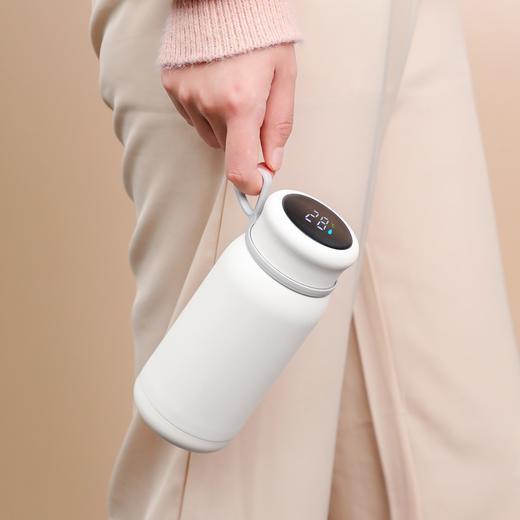 【黑科技保温杯】保温杯还能充电加热,摇一摇还能变身暖手宝,拍拍杯盖还能显示温度 商品图0