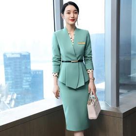 XZ-LLY-8B-3-9919新款时尚气质西装外套衬衫半身裙职业三件套TZF